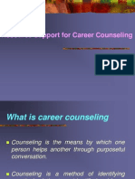 Resource Support for Career Counseling.pps