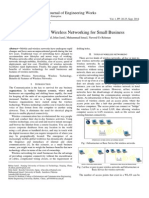 Case Study of Wireless Networking for Small Business