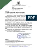 1 Pemanggilan TOEFL Gel II 19 April 2014