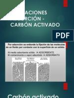 Aplicaciones Carbon Activado