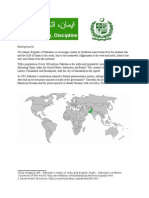 Pakistan Report - Work Sample