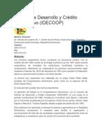 Instituto de Desarrollo y Crédito Cooperativo
