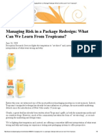 Managing Risk in a Package Redesign_ What Can We Learn From Tropicana