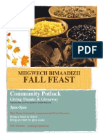 Duluth Community Fall Feast Miigwech Biimaadizi