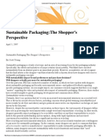 Sustainable Packaging_The Shopper's Perspective