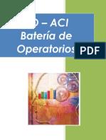 BO - ACI Bateria de Operatorios