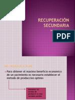 Recuperación secundariaBOMBEO MECANICO