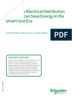 How utility electrical distribution networks can save energy
