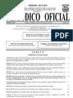 Decreto Burgos Coah