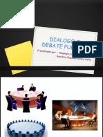 Dialogo o Debate Publico