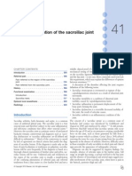 Clinical Examination of the Sacroiliac Joint