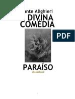 Dante - A Divina Comédia - paraiso
