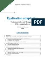 Egalisation adaptative
