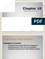 Evaluation Control