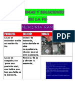 Problemas y Soluciones en La Pc Memoria Ram