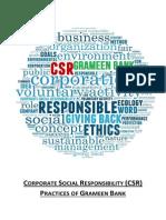 CSR Grameen Bank