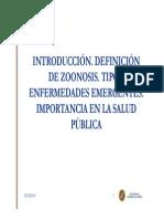 Definicion de Zoonosis. Tipos