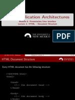 M6 L3 HTML DocumentStructure Handout