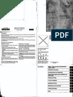 Nissan Patrol Owners Manual Y61 II ENG