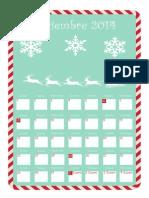 Calendario Diciembre 2014