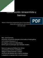 Construcción Renacentista y Barroca