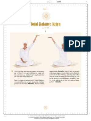 Total Balance Kriya | Hand | Breathing