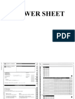 Sheet FCE EXAM