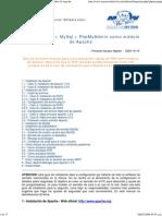 Apache + PHP + MySql + PhpMyAdmin como módulo de Apache