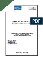 Perfil descriptivo de la cadena de la cebolla y papa en Argentina