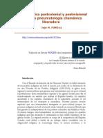 Hermenéutica Postcolonial y Postmisional