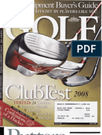golf magazine may 2008 putter test