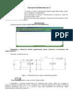 Lucrarea de Laborator Nr4 Dispozitive Electronice