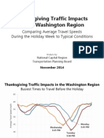 Thanksgiving Traffic Compiled