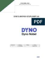 Emulsiones Explosivas