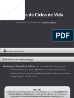 Ciclos de Vida de Software