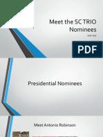 2015-2017 meet the sc trio nominees