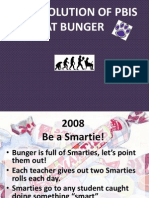 the evolution of pbis at bunger