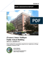 Mulligan Public School Landmark Report