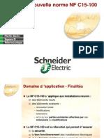 NF C15-100 Presentation Enseignement