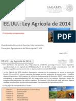 Ley Agrícola 2014 de EE UU (Farm Bill 2014)