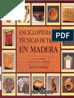 Enciclopedia de Técnicas de Talla en Madera