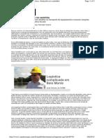 Belo Monte Logistica