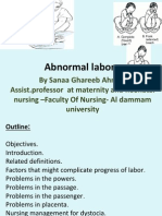 Abnormal Labor. Bbbb Wwpptx
