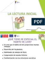 Lectura inicial