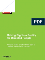 Making Rights a Reality Consultation