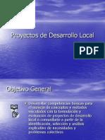 Proyectos de Desarrollo Local