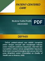 Konsep Patient Centered Care