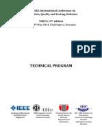AQTR2014 Technical Program