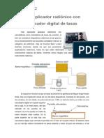 Duplicador Radiónico Con Marcador Digital de Tasas