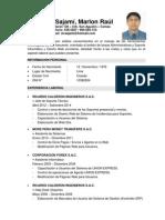 Ejemplo de CV